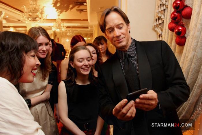 Кевин Сорбо в Москве, 29 декабря 2013 года.