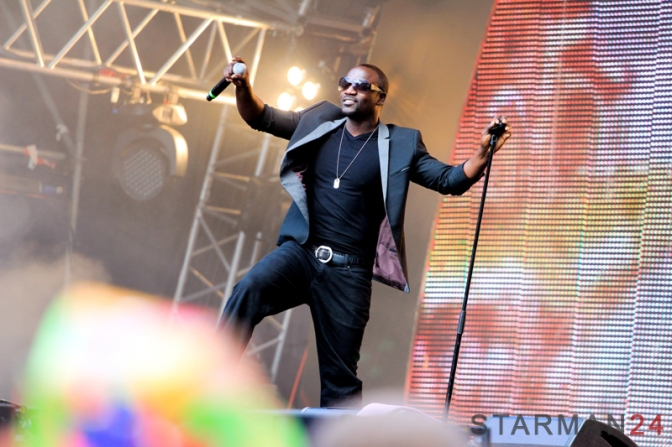 Akon раскачал Лубянку