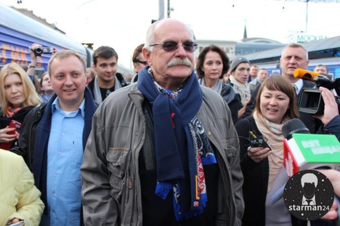 Никита Михалков запустил кинопоезд «ВГИК-95»