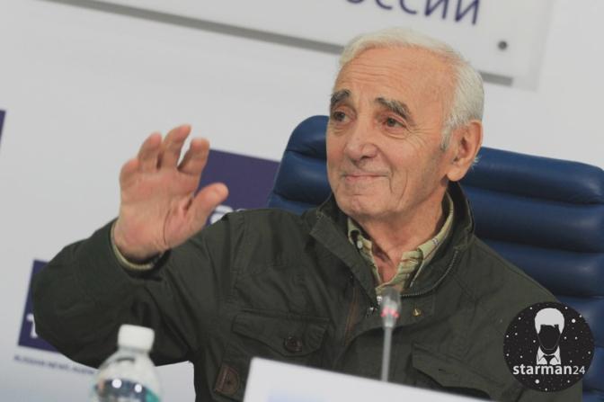 Шарль Азнавур выступит в Москве на бис