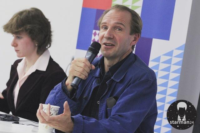 Рэйф Файнс встретился с московскими студентами