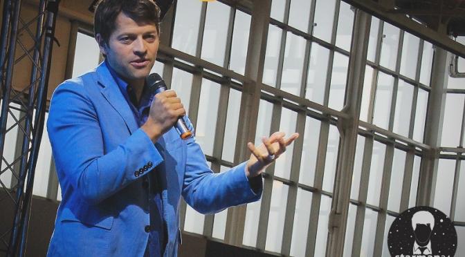 Миша Коллинз пообщался с посетителями «Комик-Кона»