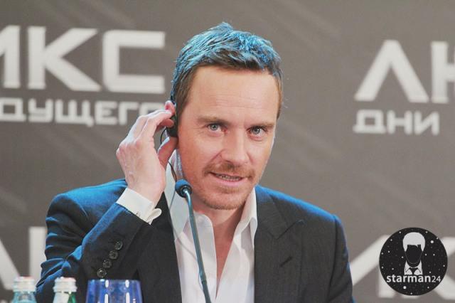 Майкл Фассбендер рассказал в Москве о «Людях Икс»