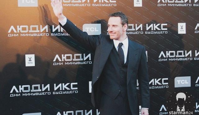 Майкл Фассбендер в Москве