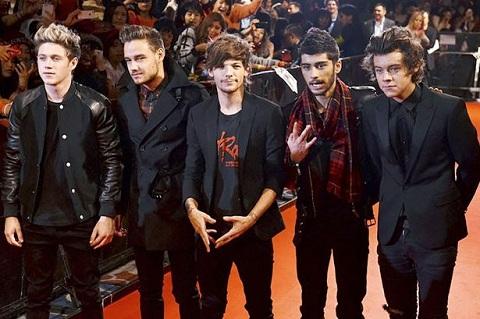 One Direction стали триумфаторами Europe Music Awards