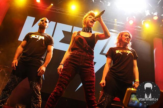 Kiesza впервые выступила в Москве