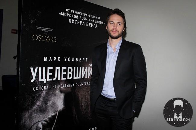 Тейлор Китч представил в Москве «Уцелевшего»