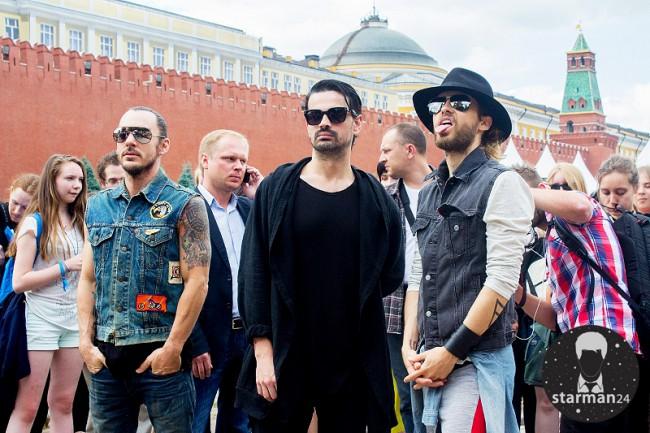 «30 Seconds to Mars» на Красной площади