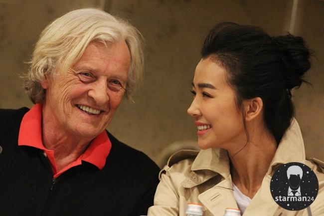 Рутгер Хауэр приехал в Москву на съемки в фильме «Вий 2: Путешествие в Китай»