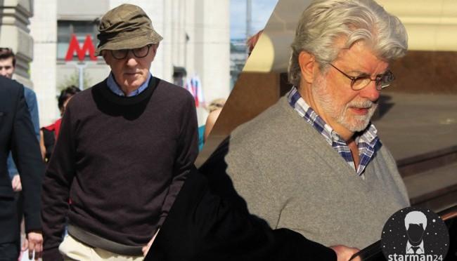 Джордж Лукас и Вуди Аллен отдохнули в Москве на «День России»