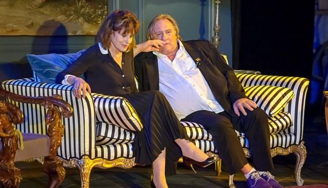 Жерар Депардье и Фанни Ардан выступят в Театре Эстрады
