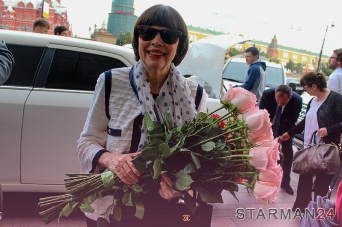 Мирей Матье вернулась в Москву