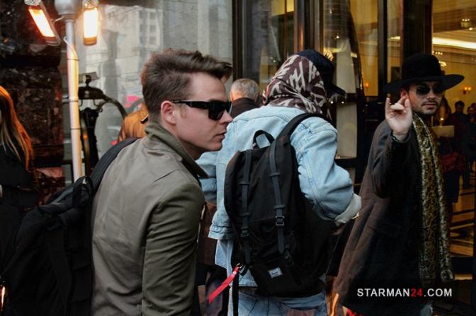 «Tokio Hotel» тайно гуляли по Москве
