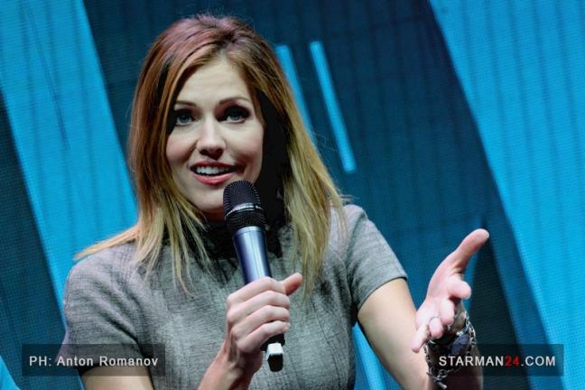 Триша Хелфер приехала на «Comic Con Russia»