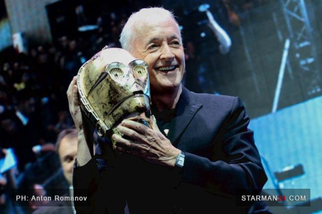 Энтони Дэниелс рассказал про «Звездные войны» на «Comic Con Russia»