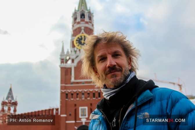 Факундо Арана посетил Красную Площадь в Москве [фоторепортаж]