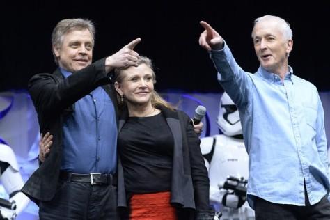 Carrie+Fisher+Disney+Star+Wars+Celebration+0zOAglPKc8rl