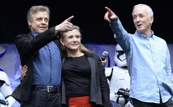 Кэрри Фишер сильно похудела для новых «Звездных войн»