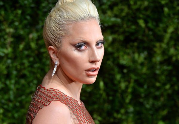 Леди Гага получила в подарок белую лошадь