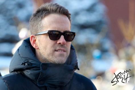 Ryan Reynolds (Deadpool) in Moscow / 24.01.2016