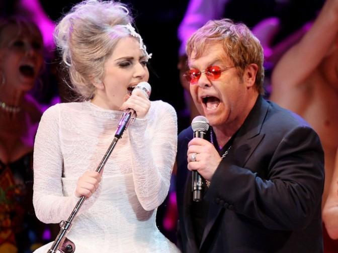 Леди Гага и Элтон Джон записывают совместный альбом