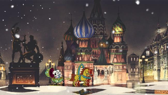 Канал Disney покажет приключения Микки и Минни в Москве
