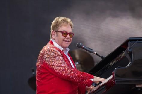 Elton John Concert At Kingsholm, Gloucester
