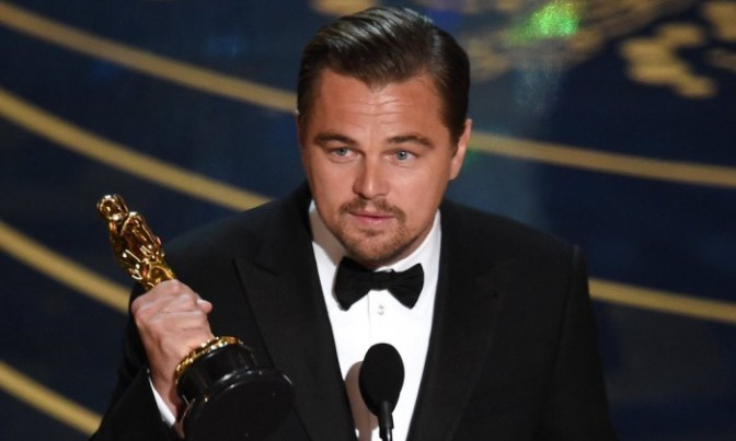 Леонардо ДиКаприо получил «Оскар»
