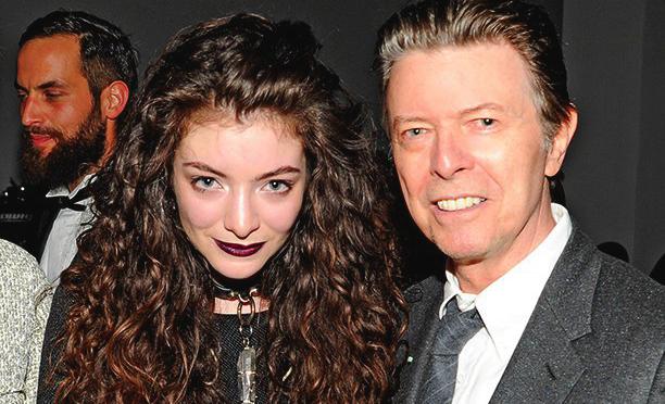 Lorde почтила память Дэвида Боуи на «BRIT Awards 2016» [видео]