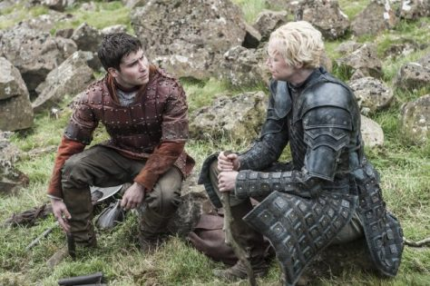 Daniel-Portman-as-Podrick-Payne-and-Gwendoline-Christie-as-Brienne-of-Tarth-_-photo-Helen-Sloan_HBO