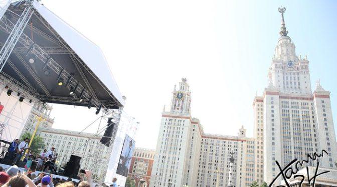 В столице прошел благотворительный забег «Adidas Бегущие сердца»