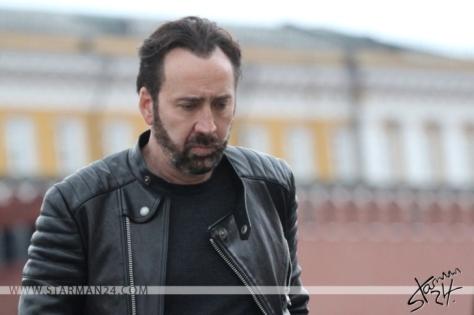 Николас Кейдж на Красной площади в Москве (2016) / Nicolas Cage in Moscow, Red square.