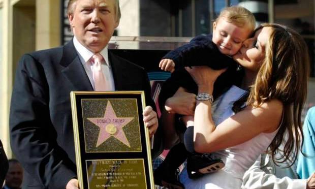 В Лос-Анджелесе восстанавливают звезду Дональда Трампа