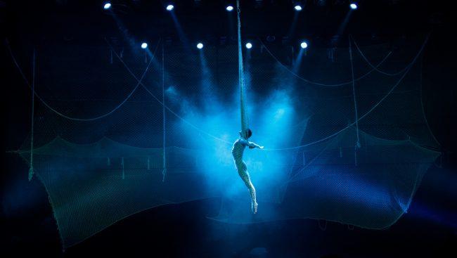 Солист Cirque du Soleil представит в Москве мюзикл «Человек-амфибия»