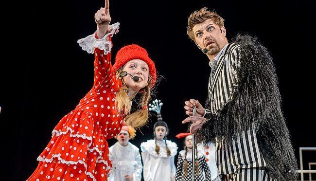 Мюзикл «Пеппи Длинныйчулок» представят на сцене «Московского мюзик-холла»