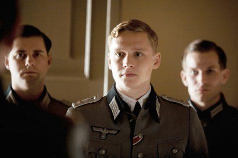 Lieutenant Herber (Matthias Schweighöfer, M.)