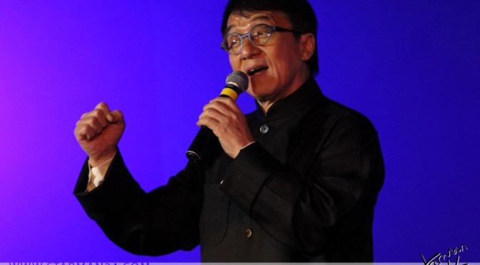 Джеки Чан представит в Москве фильм «Тайна печати дракона»