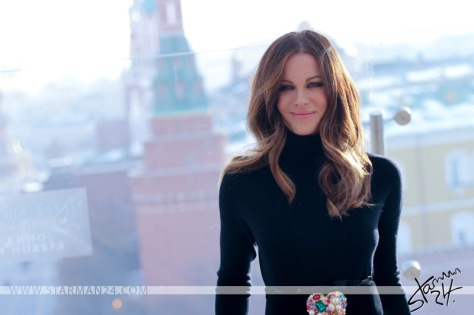 Kate Beckinsale in Moscow (2016)