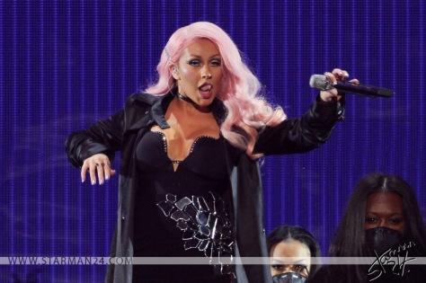 Кристина Агилера в Москве / Christina Aguilera in Moscow (2016)