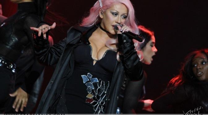 Кристина Агилера выступит в новогоднюю ночь на Таймс Сквер