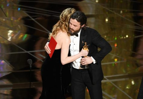 Casey Affleck and Brie Larson