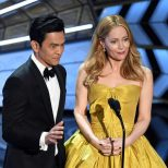 John Cho and Leslie Mann