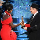 Viola Davis and Mark Rylance