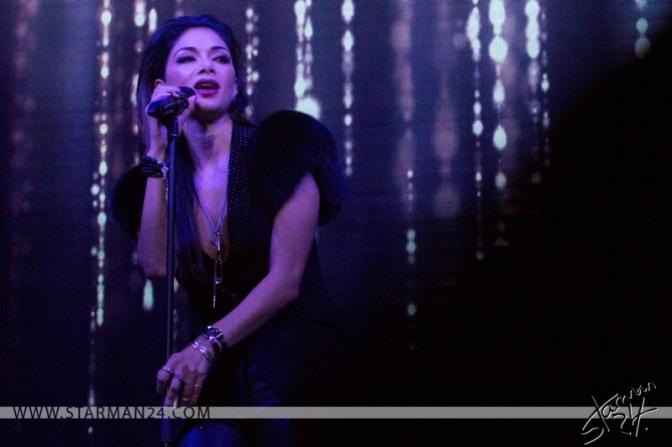 Николь Шерзингер выступила на закрытом концерте в Москве