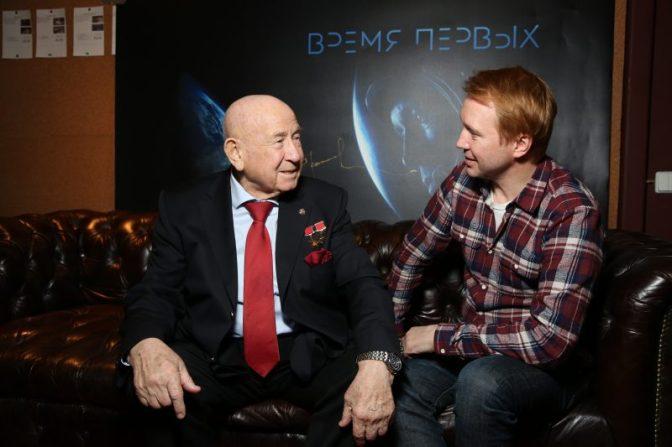 Космонавт Алексей Леонов одобрил фильм Евгения Миронова