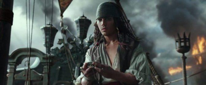 Джонни Депп омолодился в пятых «Пиратах Карибского моря» (Видео)