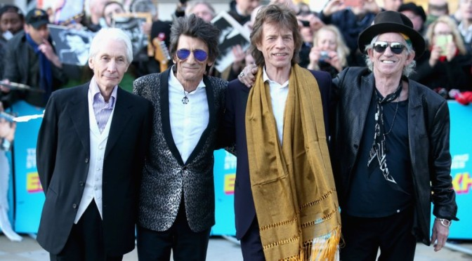 Mick Jagger, Keith Richards, Charlie Watts, Ronnie Wood