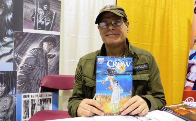Автор «Ворона» приедет на Комик-Кон в Москву