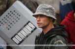 Александр Головин на съемках фильма «Оракул: Игра втемную»