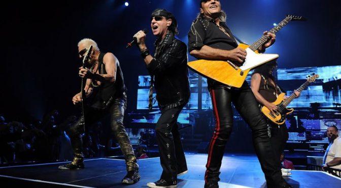 «Scorpions» отменили ближайшие концерты